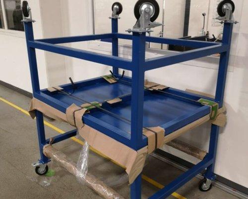 Hegesztett gyártó, vizsgáló asztal
